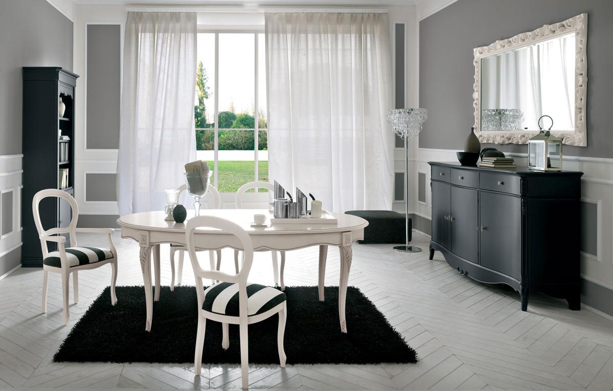 Vetrina mobile soggiorno for Arredamento stile barocco moderno